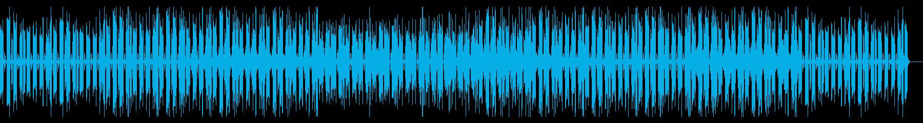 クールで落ち着いた大人の音楽の再生済みの波形