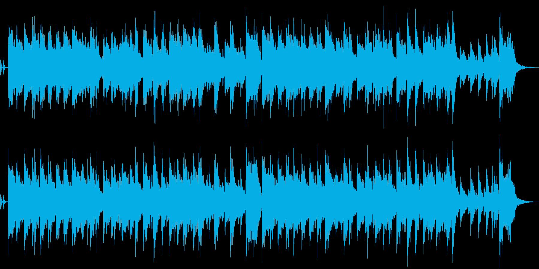 ハモンドオルガンが印象的なジャズジングルの再生済みの波形