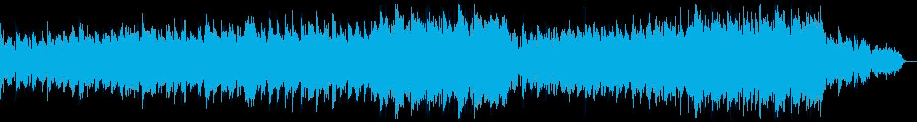 希望あふれるエピックピアノ:ドラム無しの再生済みの波形