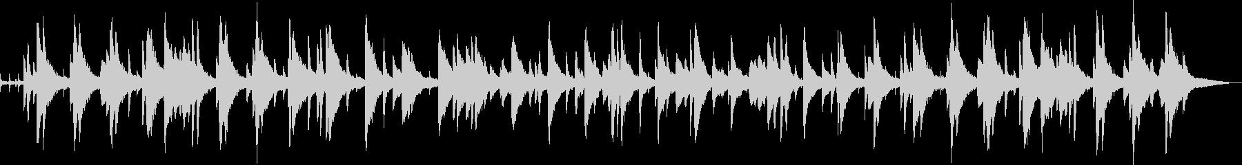 お洒落なジャズピアノトリオ7 バラードの未再生の波形