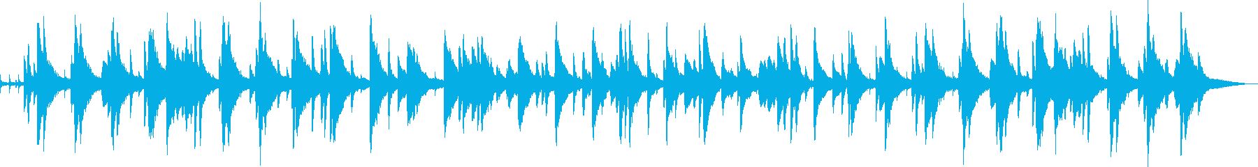 お洒落なジャズピアノトリオ7 バラードの再生済みの波形