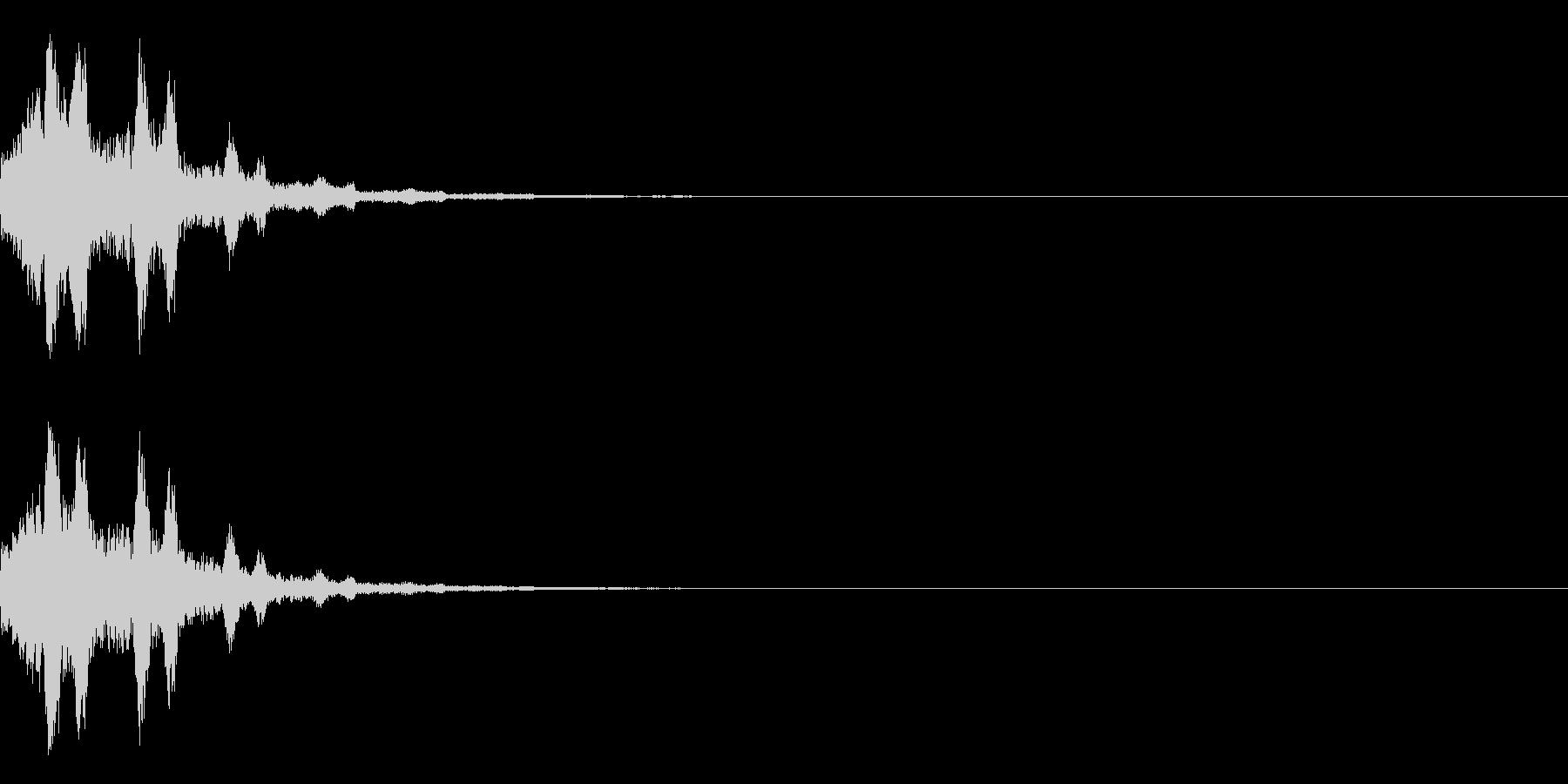 システム起動音_その11の未再生の波形