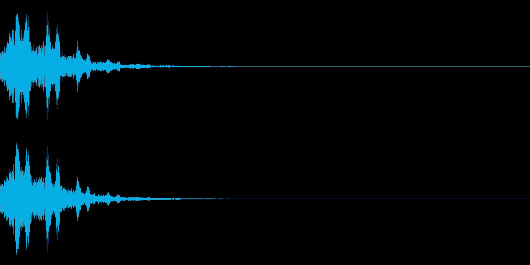 システム起動音_その11の再生済みの波形