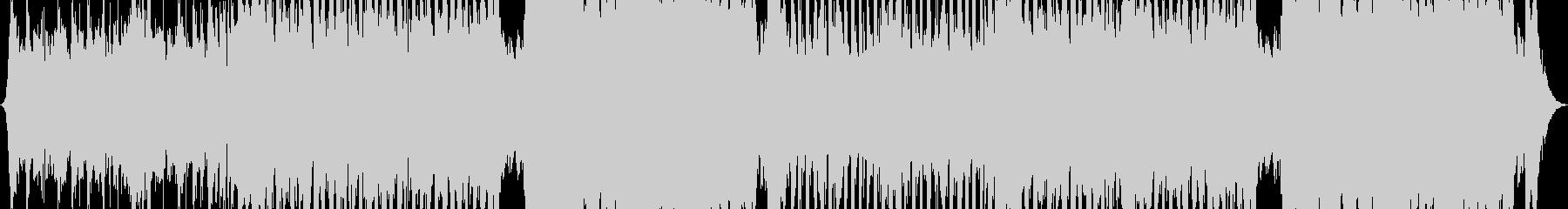 スタイリッシュなウエスタンロックンロールの未再生の波形