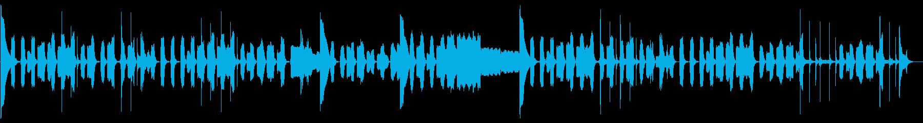 優しいそよ風の生演奏。リコーダー3本。の再生済みの波形
