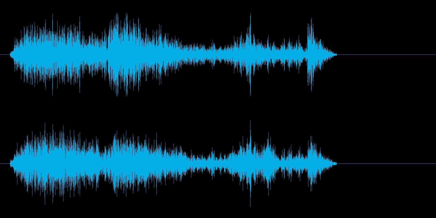 ザリリリッオウスタァーキ!の再生済みの波形