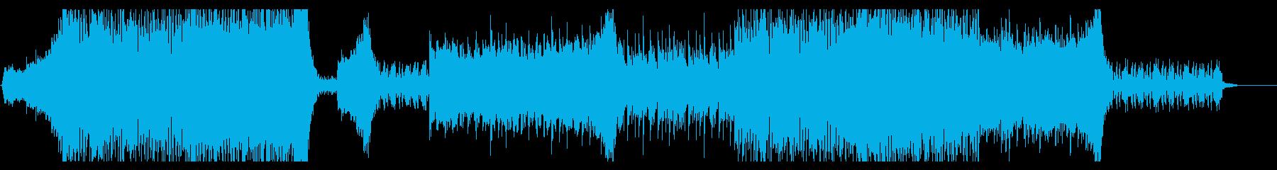 シネマティックエレクトロ 恐怖の再生済みの波形