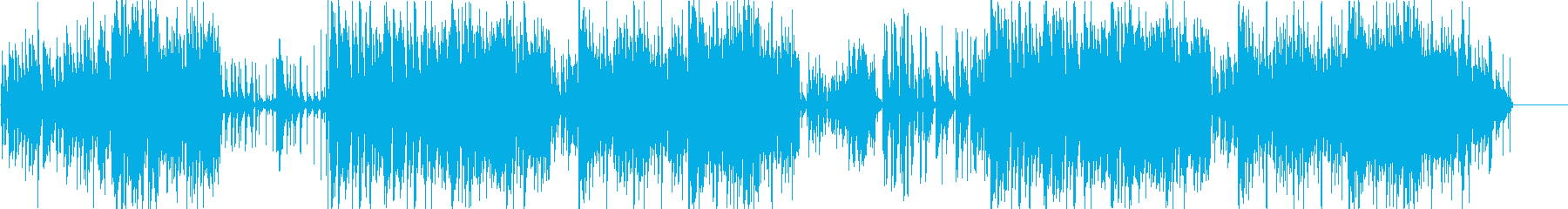 ベースが印象的な疾走感あるジャズの再生済みの波形