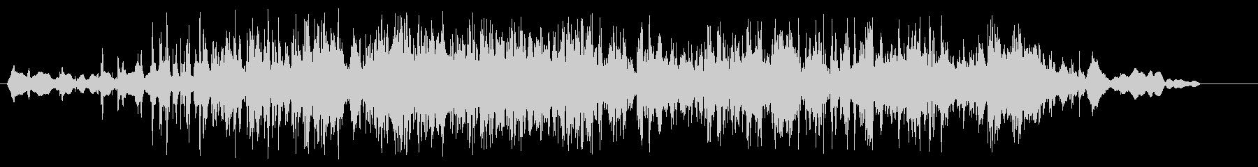 細々したものをばらまいた音の未再生の波形
