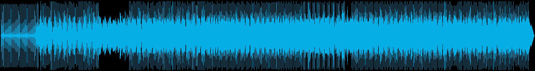 テクノ。神秘的で神秘的の再生済みの波形
