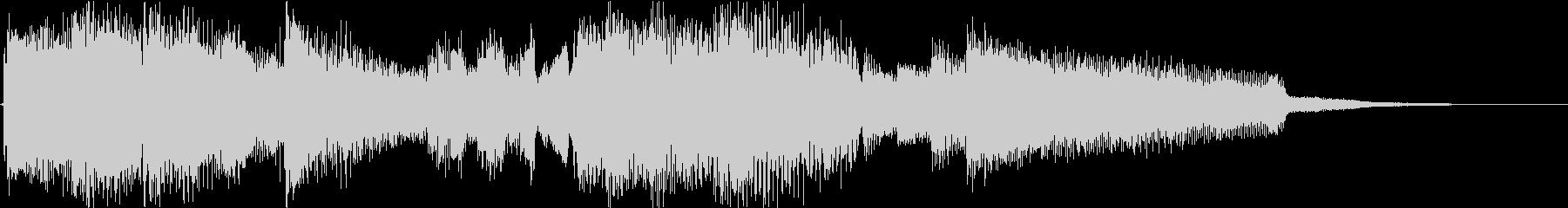 ほのぼのするギタージングル3の未再生の波形