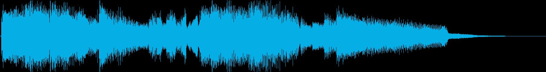 ほのぼのするギタージングル3の再生済みの波形