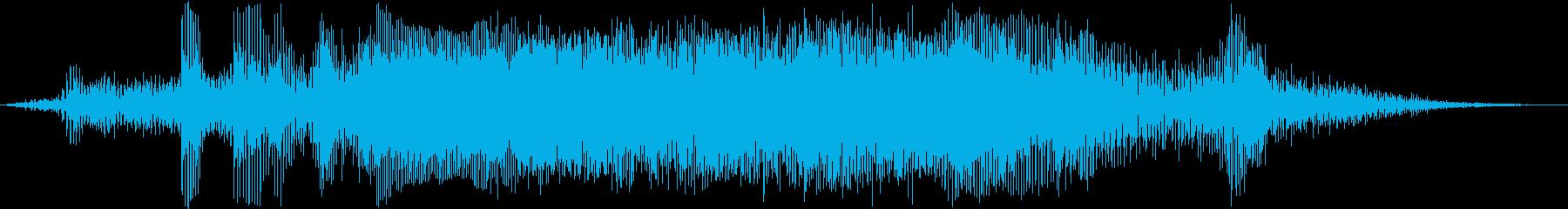 モトクロスレースの再生済みの波形