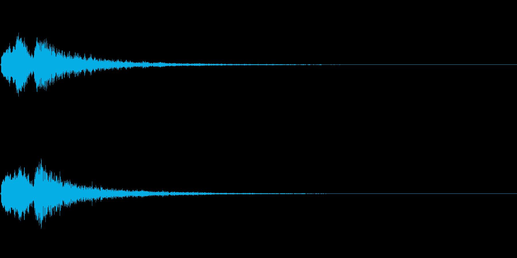 Vox 不気味な鳴き声 ホラーSE 1の再生済みの波形