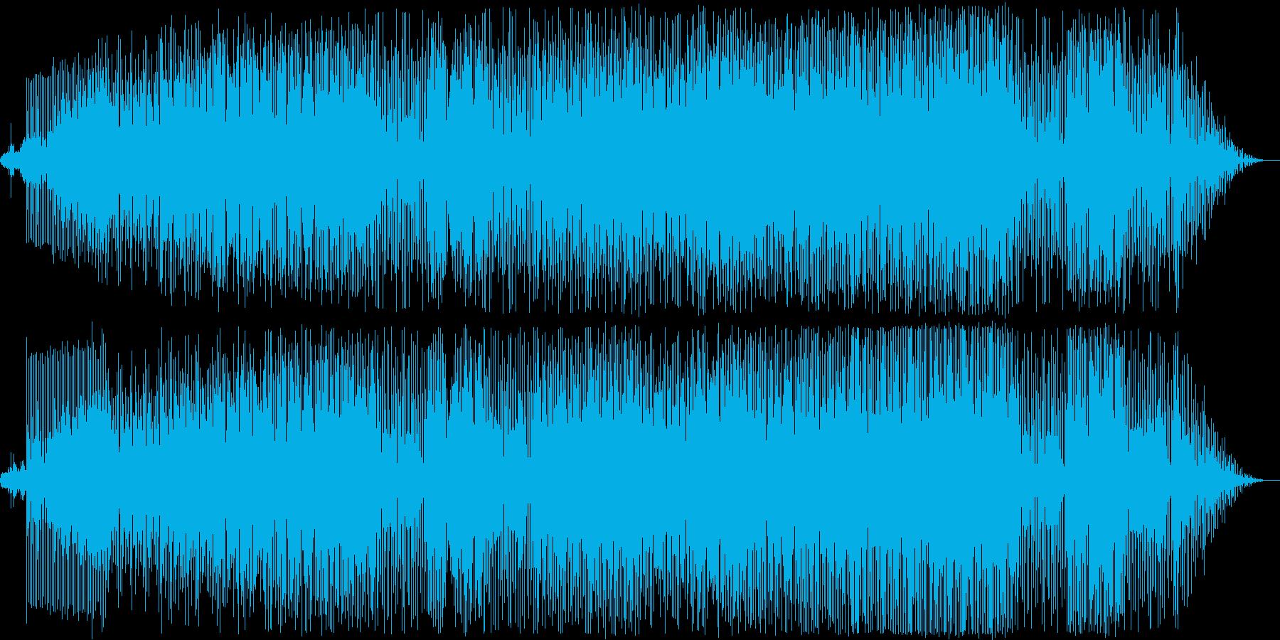 動画 アクション 静か 希望的 ハ...の再生済みの波形