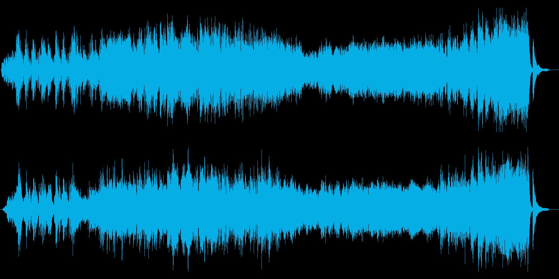 【ドラマ劇伴】何かが起こりそうな日常曲の再生済みの波形