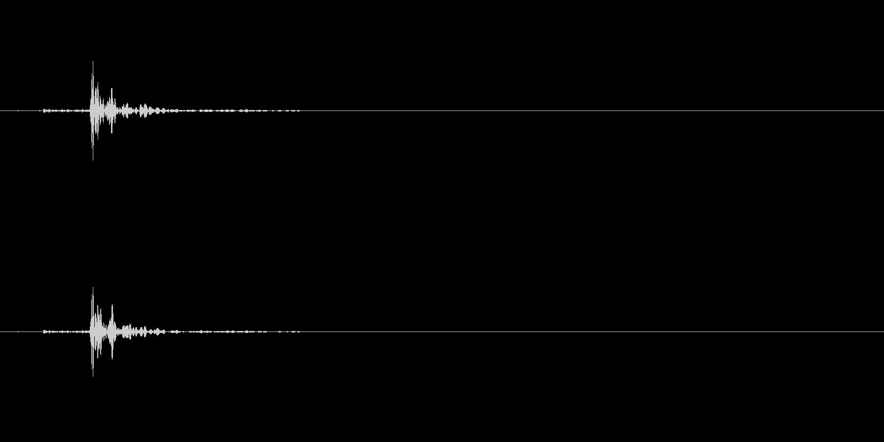 INT:マニュアルドアロックエンゲ...の未再生の波形