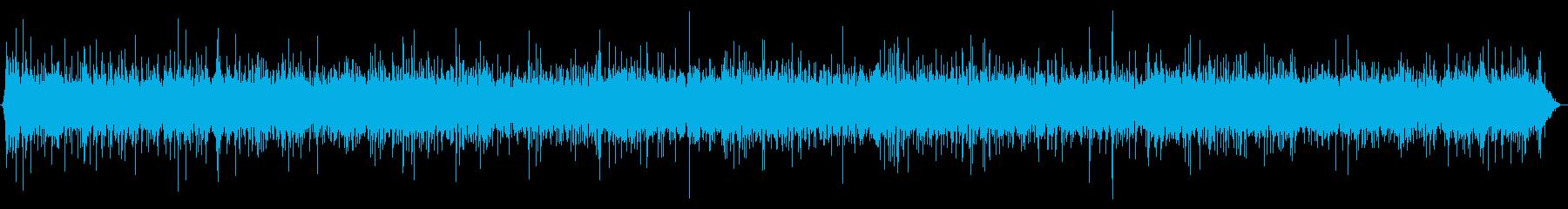 雨の音03(傘)の再生済みの波形