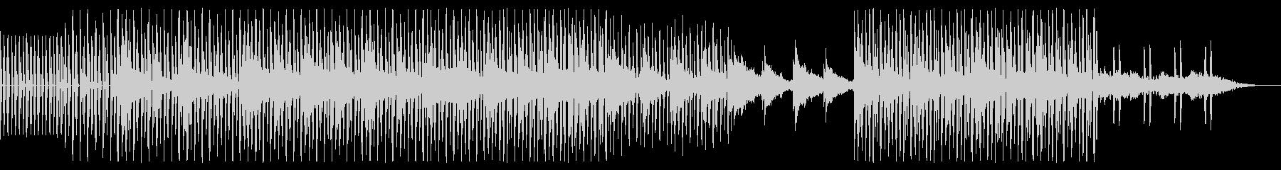 ギターのアルペジオが印象的な幻想的な楽曲の未再生の波形