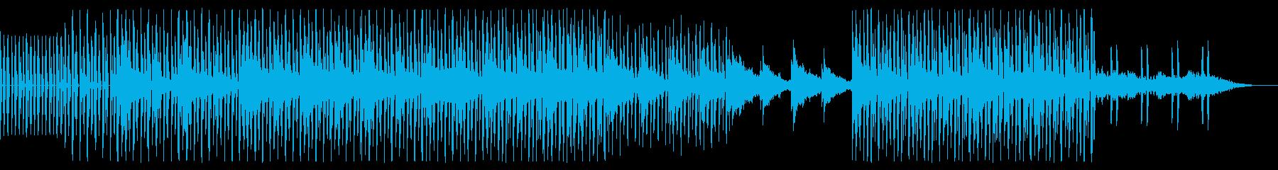 ギターのアルペジオが印象的な幻想的な楽曲の再生済みの波形
