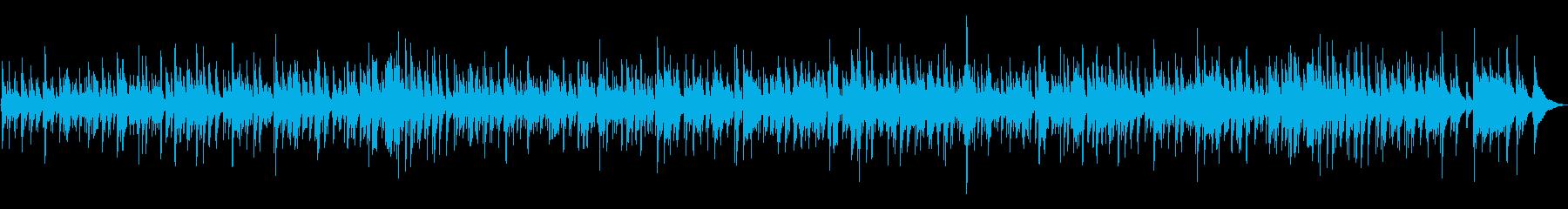 ムーディーなボサノバの再生済みの波形