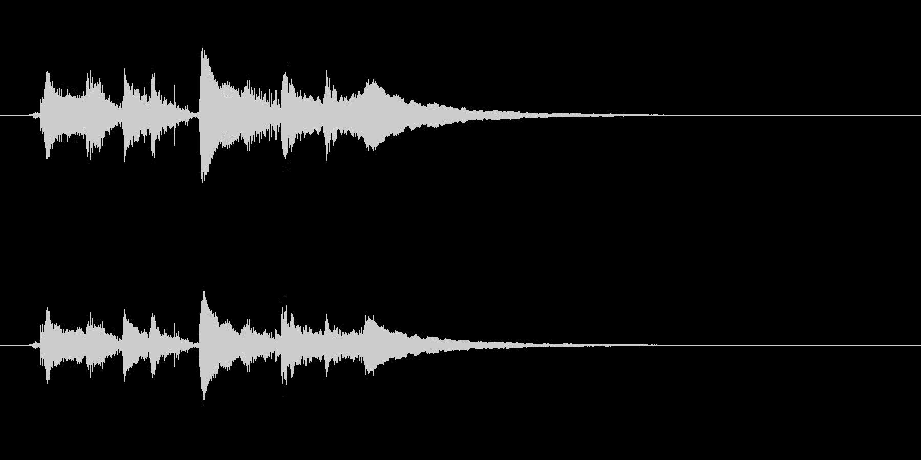 アコースティックギター、バラードコ...の未再生の波形