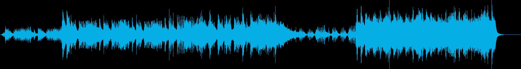 切ない雰囲気のクラシックインストの再生済みの波形