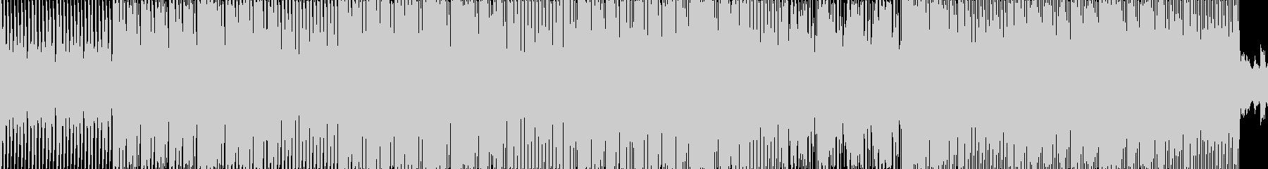 エレクトロニック アクション 感情...の未再生の波形