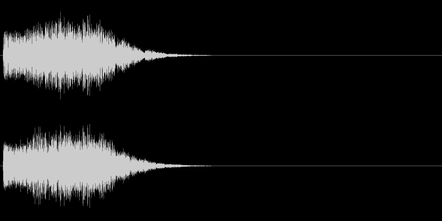 怪しげな決定音/電子音/魔法の未再生の波形