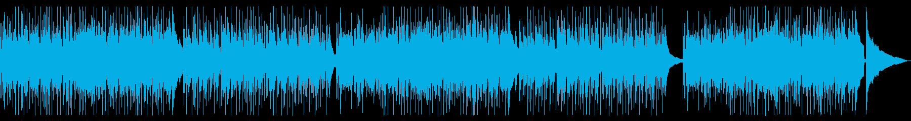 生演奏アコギ&ピアノによる渋い一曲の再生済みの波形