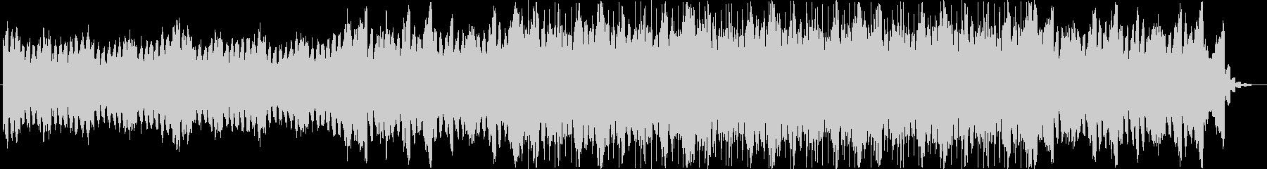 シンセ音のエレクトロニカ系BGMの未再生の波形