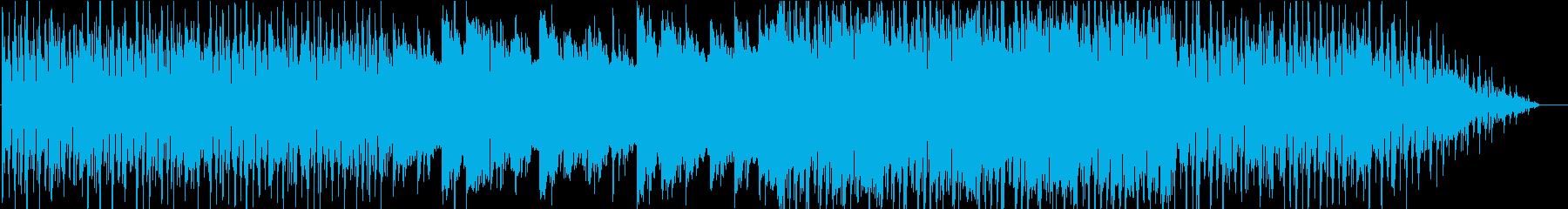 爽やかでアコースティックな曲の再生済みの波形