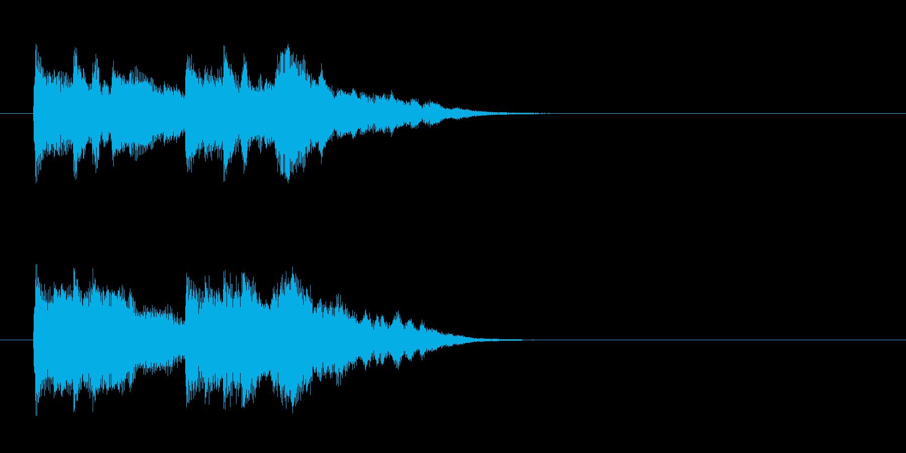 ジングル/環境(エンディング風)の再生済みの波形
