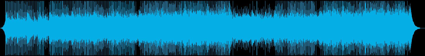 成功した打ち上げの再生済みの波形