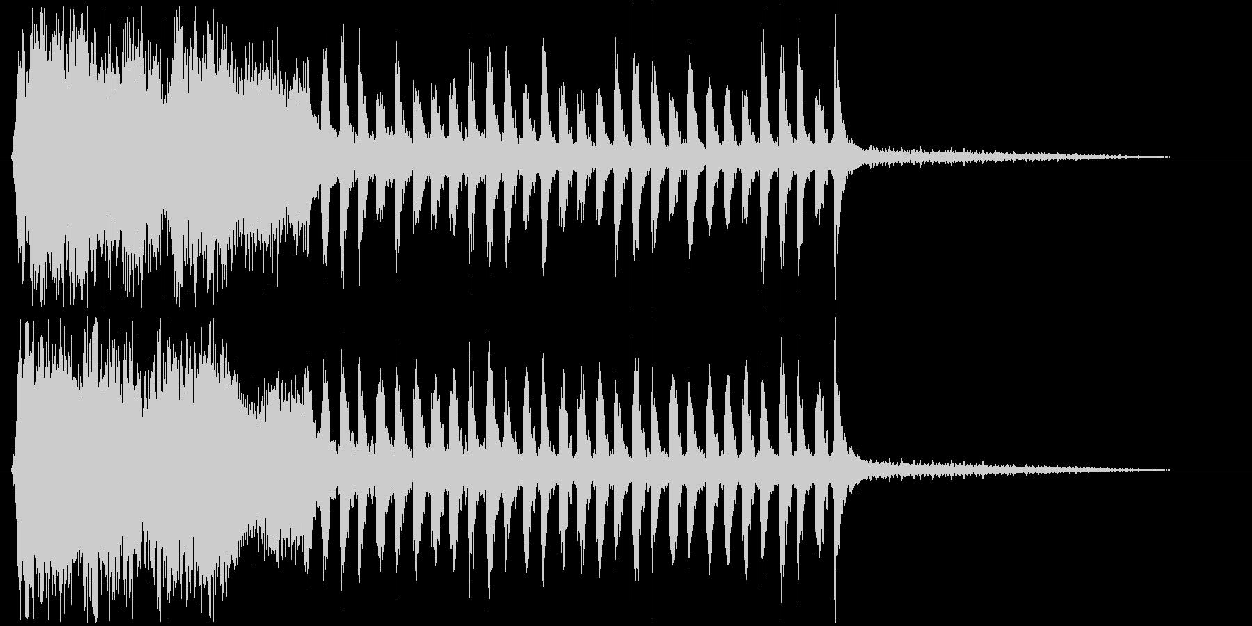 メルヘンなシンセ・木琴などサウンド短めの未再生の波形