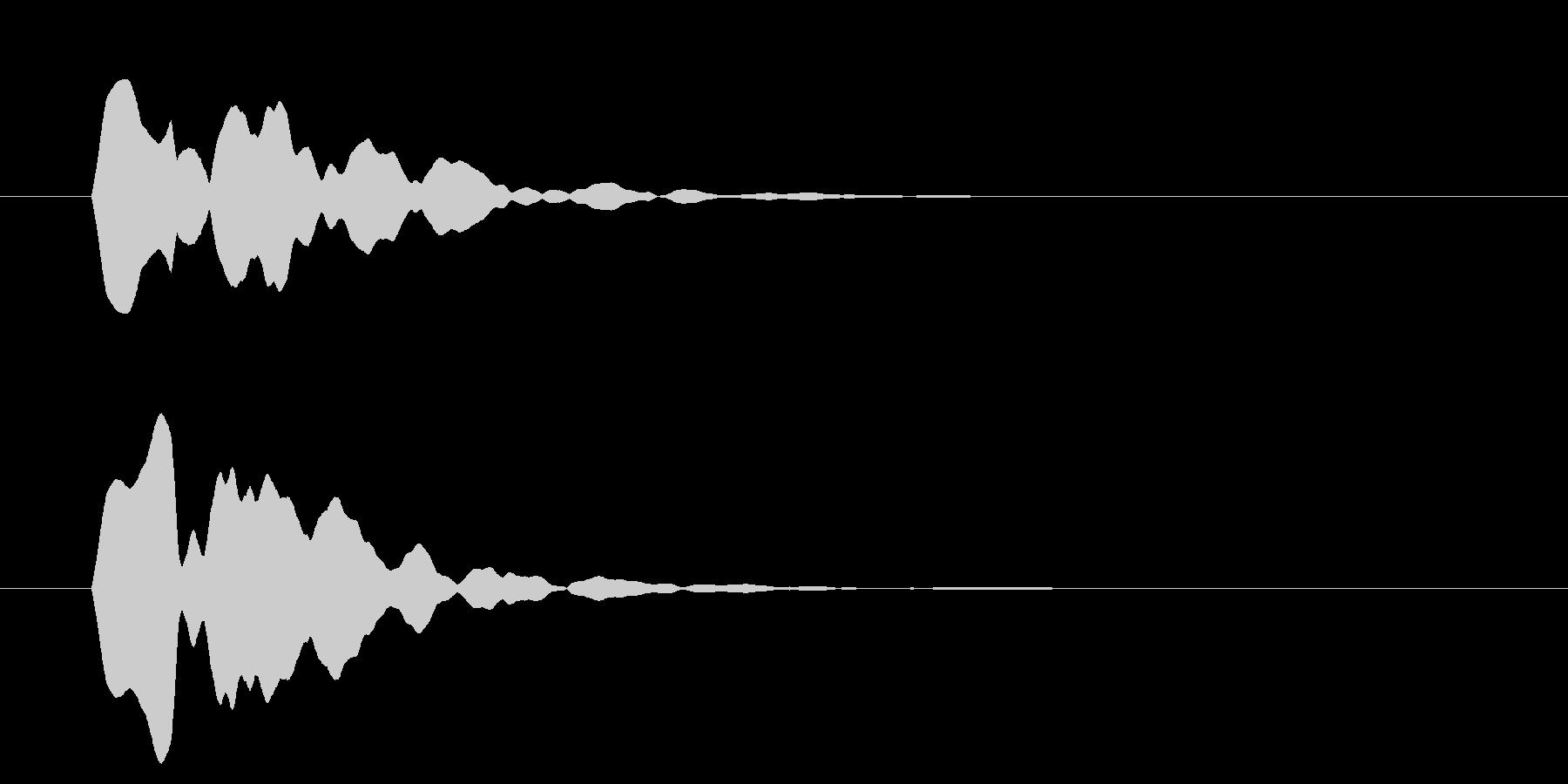 改札 ビープ音01-13(音色2 遠)の未再生の波形