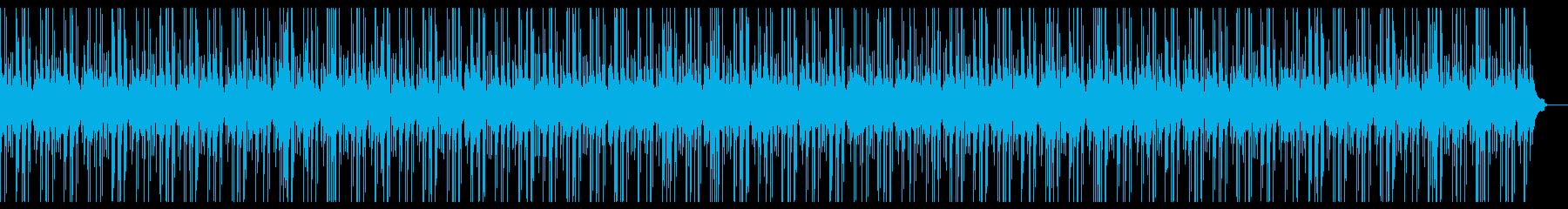大人っぽい雰囲気の正統派ピアノBGMの再生済みの波形