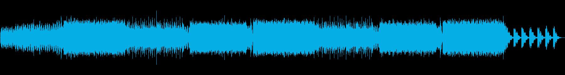 激しいインパクトダブステップエンディングの再生済みの波形