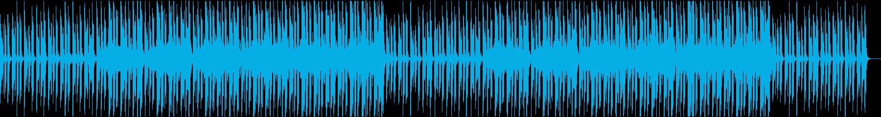 穏やかおしゃれかわいい軽快なボサノバaの再生済みの波形