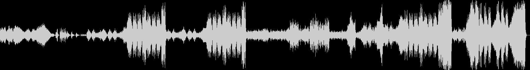 花のワルツ/チャイコフスキーの未再生の波形