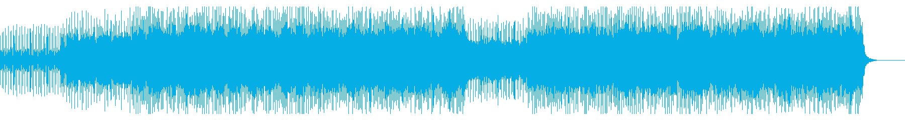 パズルゲーム、エレクトロポップ、中国音階の再生済みの波形