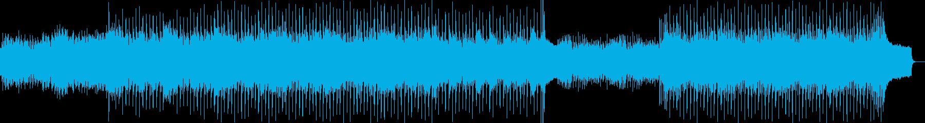 躍動的、始まりを感じさせるギターポップスの再生済みの波形