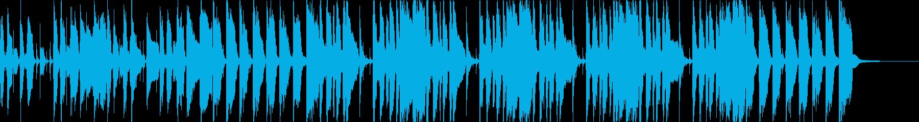ブラス、スラップベース、ファンクロックの再生済みの波形