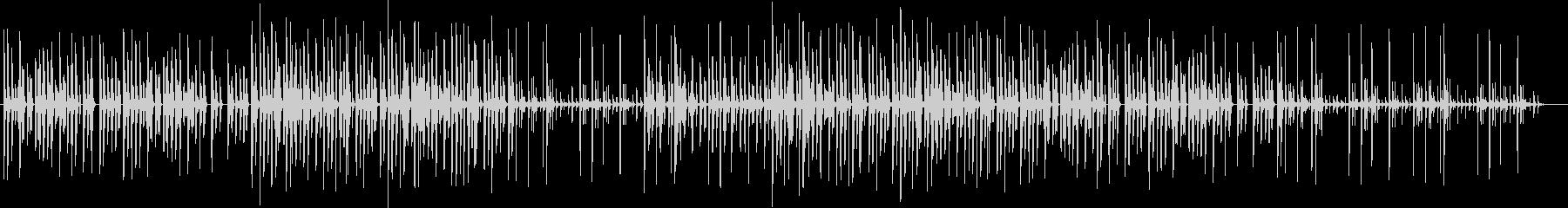 エレクトロなHiphopの未再生の波形