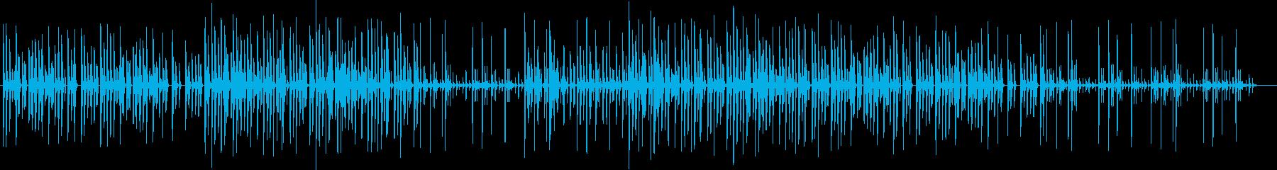 エレクトロなHiphopの再生済みの波形