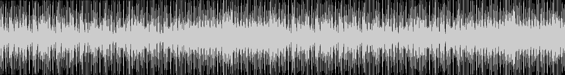 三味線和風ヒップホップインストループ声無の未再生の波形