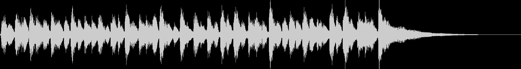15秒CM、アコギリズム、商品紹介等②の未再生の波形
