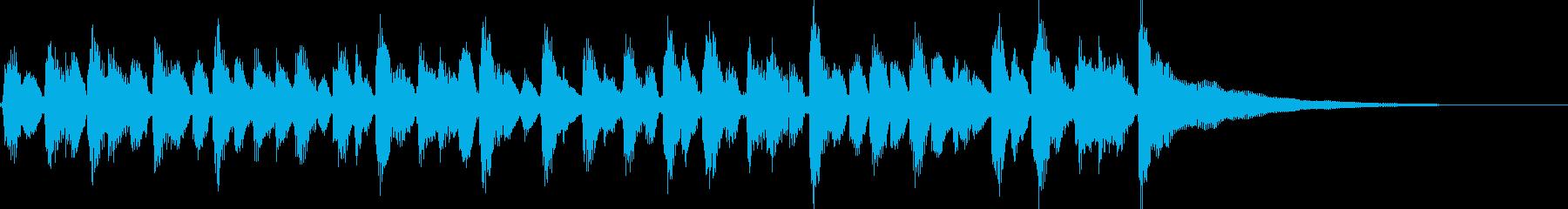 15秒CM、アコギリズム、商品紹介等②の再生済みの波形