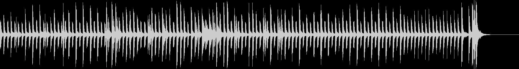 かわいくてヘンテコなピアノソロの未再生の波形