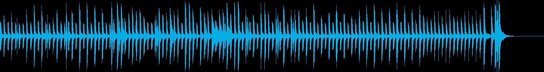 かわいくてヘンテコなピアノソロの再生済みの波形